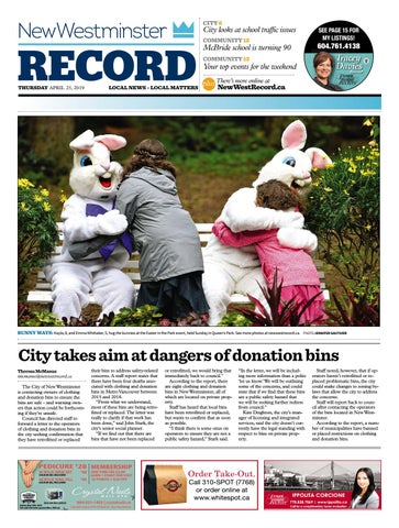 78b30aa23af5 New Westminster Record April 25 2019 by Royal-City-Record - issuu