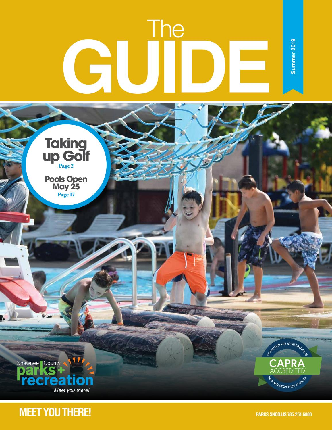 Shawnee County Parks and Recreation The Guide Summer 2019 by