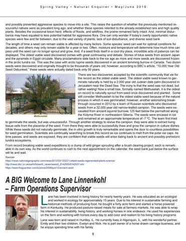 Page 5 of A Big Welcome to Lane Linnenkohl