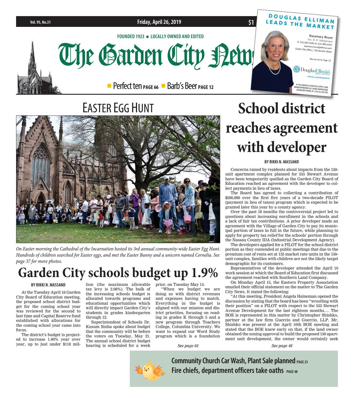 The Garden City News (4/26/19) by Litmor Publishing - issuu