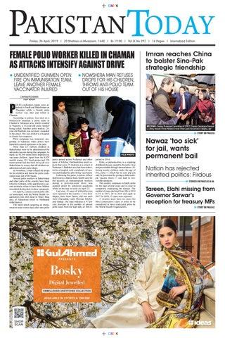 E-Paper PDF 26 April (ISB) by Pakistan Today - issuu