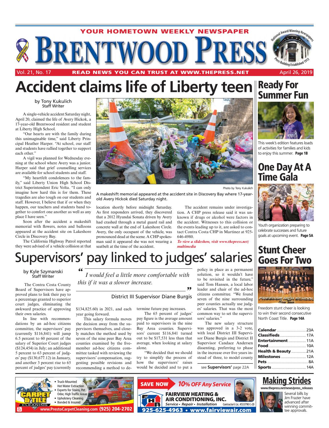 f03a94a04a7bcf Brentwood Press 04.26.19 by Brentwood Press   Publishing - issuu