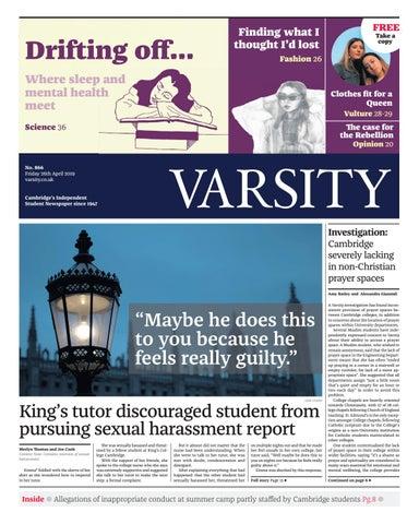 59b70994 Varsity Issue 866 by Varsity Publications Ltd - issuu