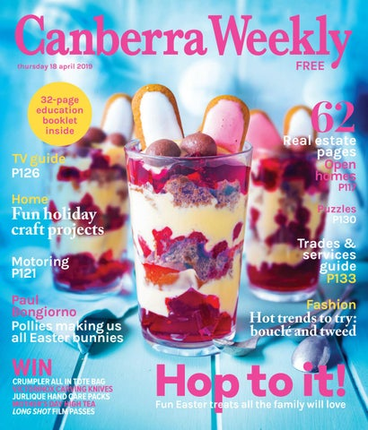 8929b32ee3291f 18 April 2019 by Canberra Weekly Magazine - issuu
