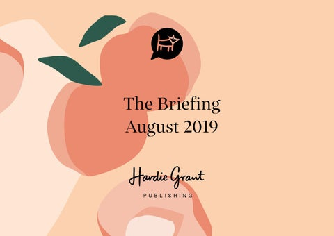 9c1574b2a HGBooks August Kit 2019 by Hardie Grant Publishing - issuu