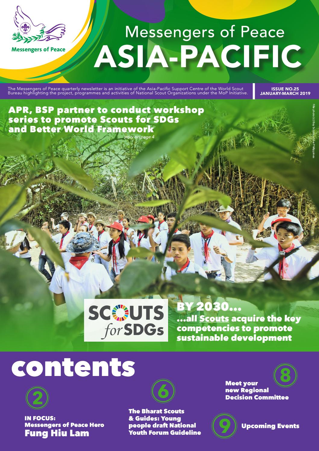 MoP Bulletin Issue No 25 by World Organization of the Scout