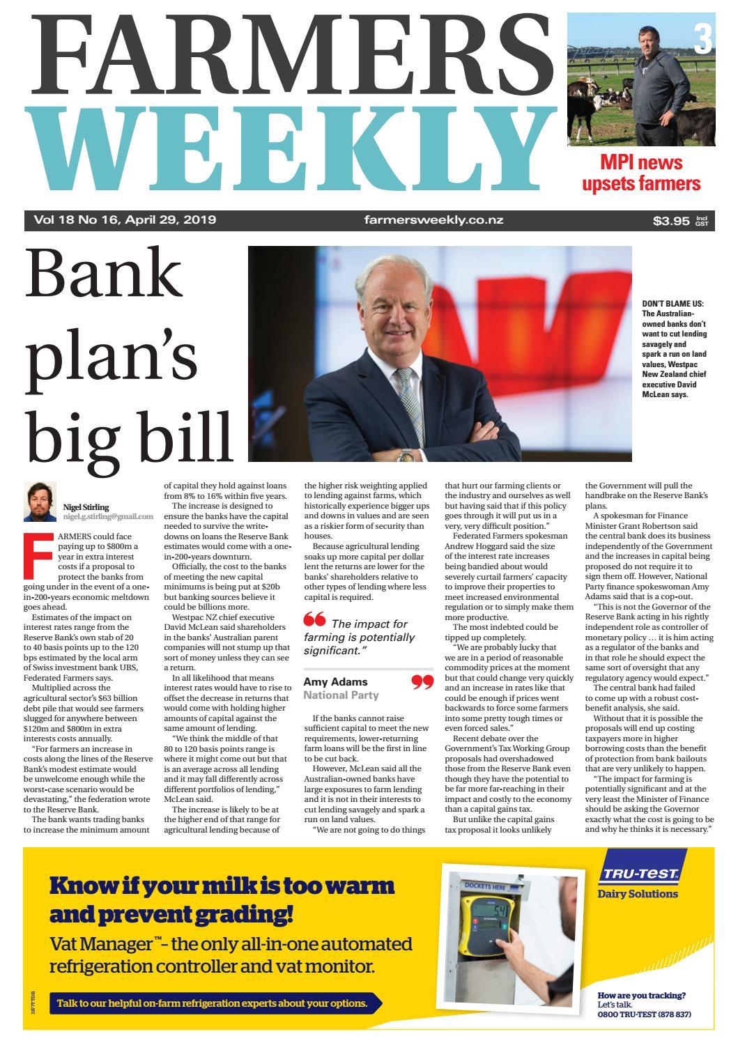 ac96d0bf0a3 Farmers Weekly NZ April 29 2019 by Farmers Weekly NZ - issuu
