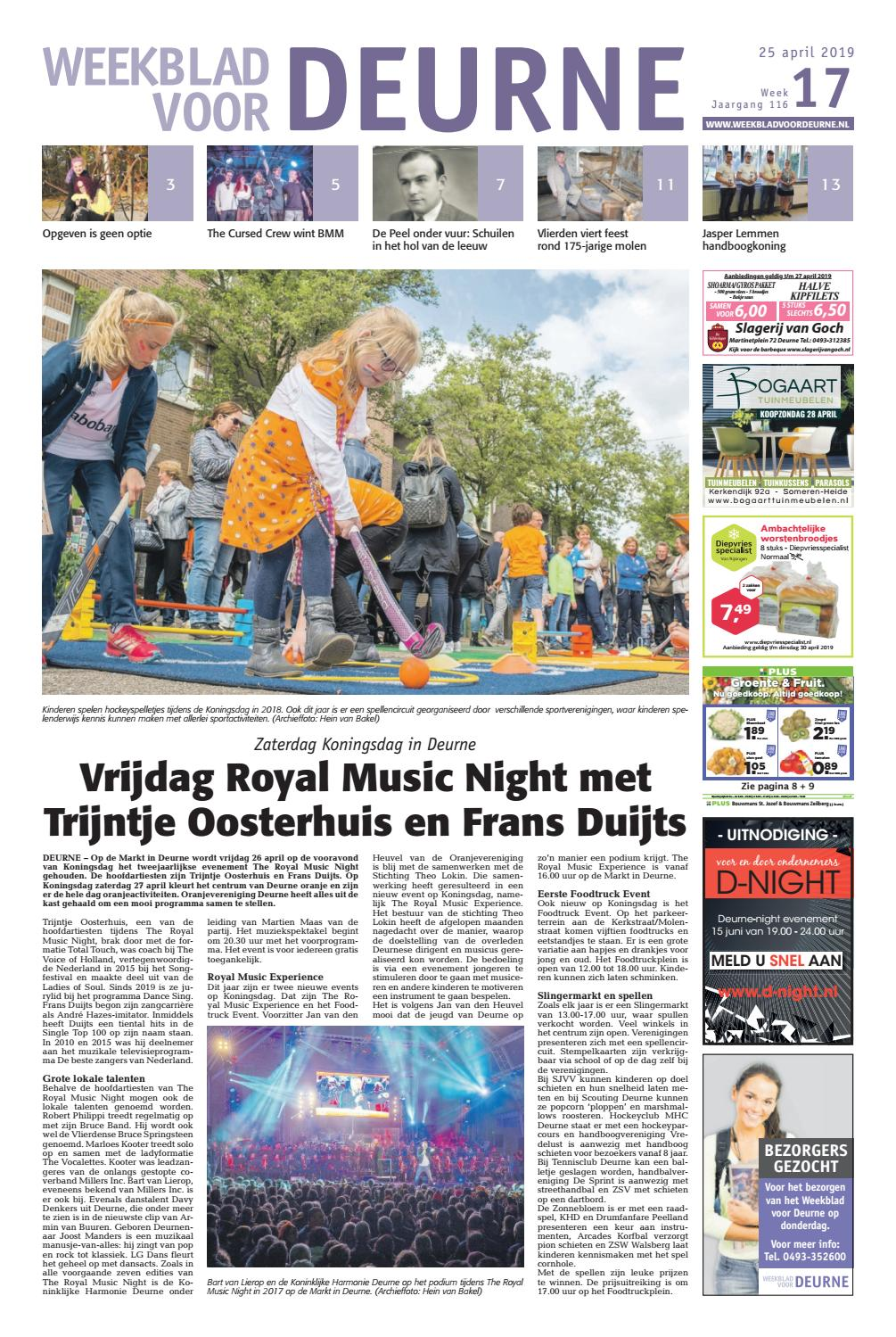 Weekblad Voor Deurne 25 04 2019 By Das Publishers Issuu