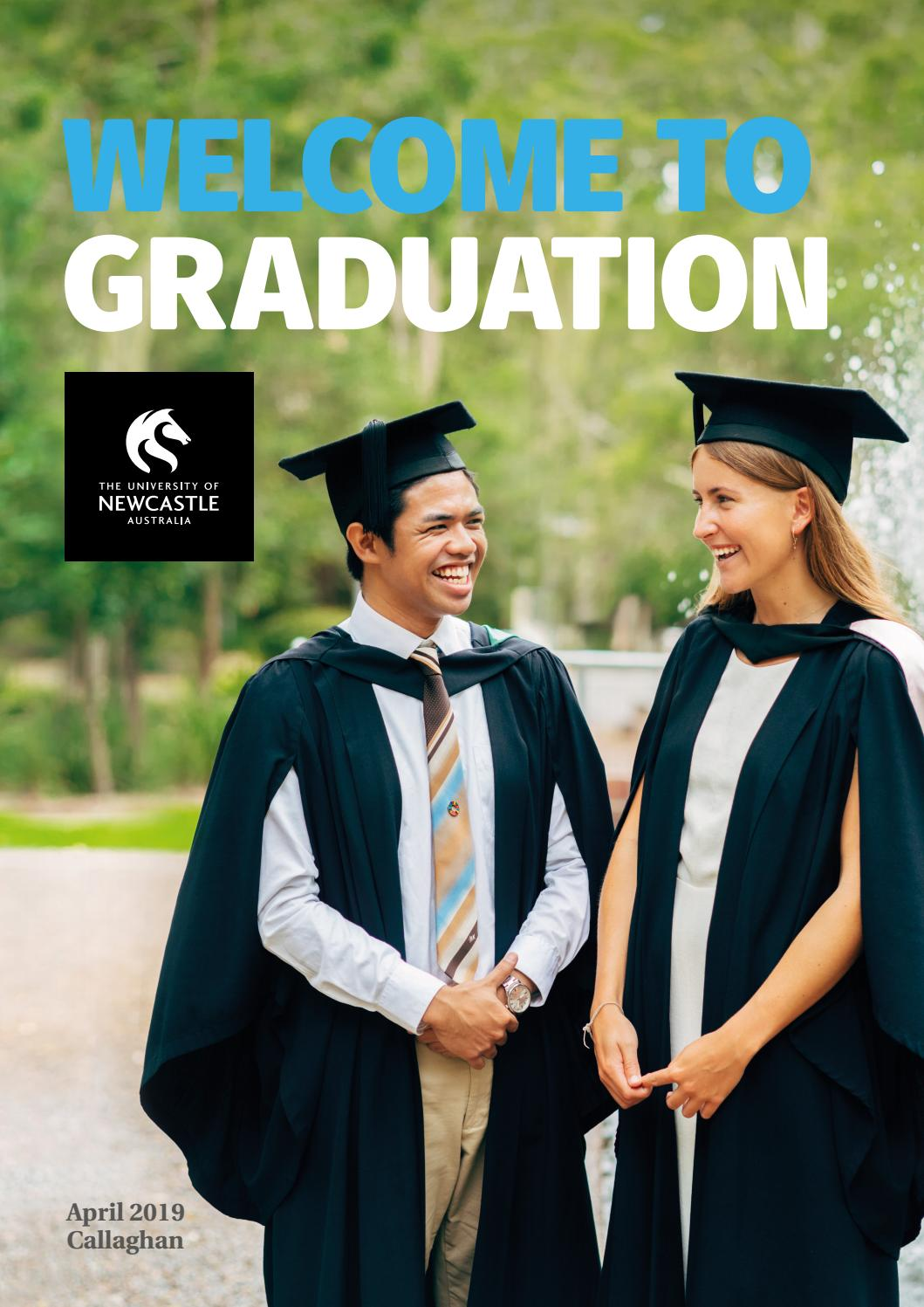 1bbd5d15b7 Callaghan Graduation Ceremonies - April 2019 by UON Graduation - issuu