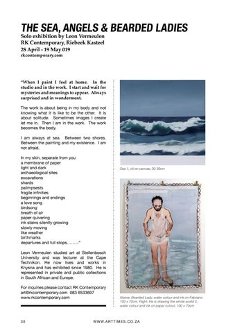 Page 30 of Leon Vermeulen- The Sea, Angels & Bearded Ladies