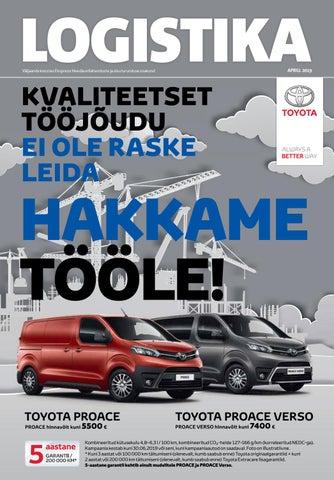 56e0a5dda6d Logistika (aprill 2019) by Eesti Päevalehe AS - issuu