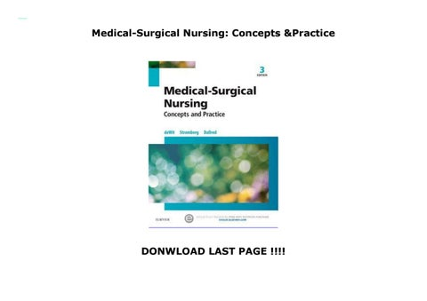 Medical-Surgical Nursing: Concepts & Practice