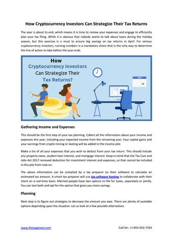 Cryptocurrency tax documents