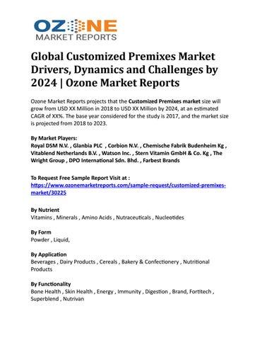Global Kombucha Market Analysis and Market Demand 2019-2024   Ozone