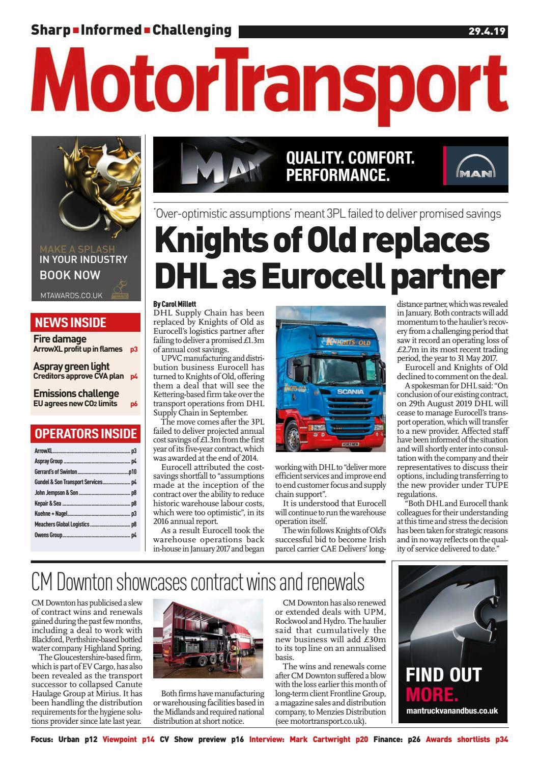 Motor Transport 29 April 2019 by Motor Transport - issuu