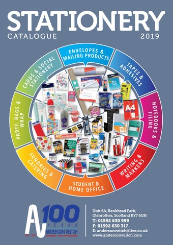 STAGG Stationery Catalogue AV 2019 by STAGG Distributors - issuu