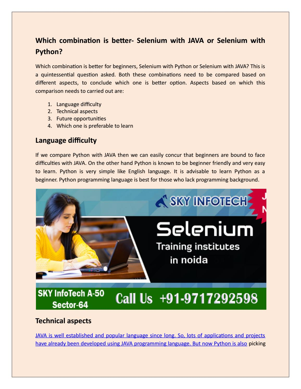 Selenium training in noida by jitendra kumar - issuu