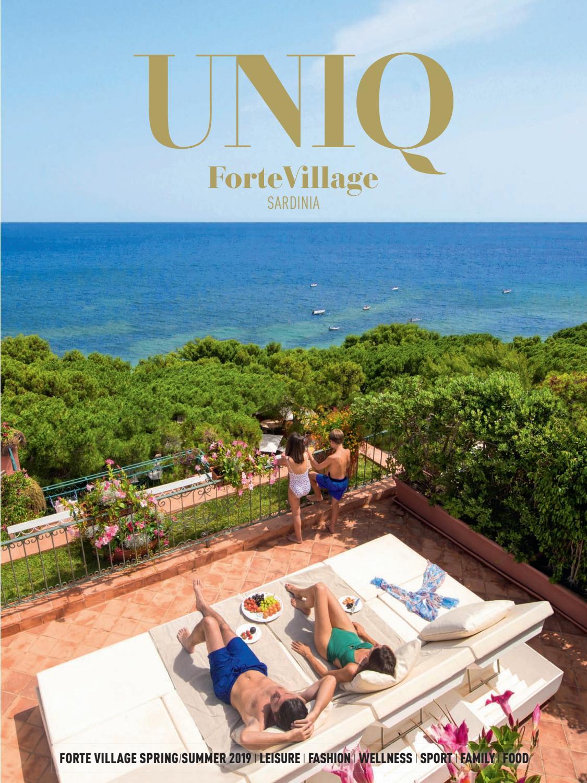 Forte Village Magazine Uniq Summer 2019 Eng By Forte Village Issuu