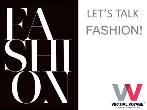 Fashion Design Courses In Indore By Virtual Voyage Issuu