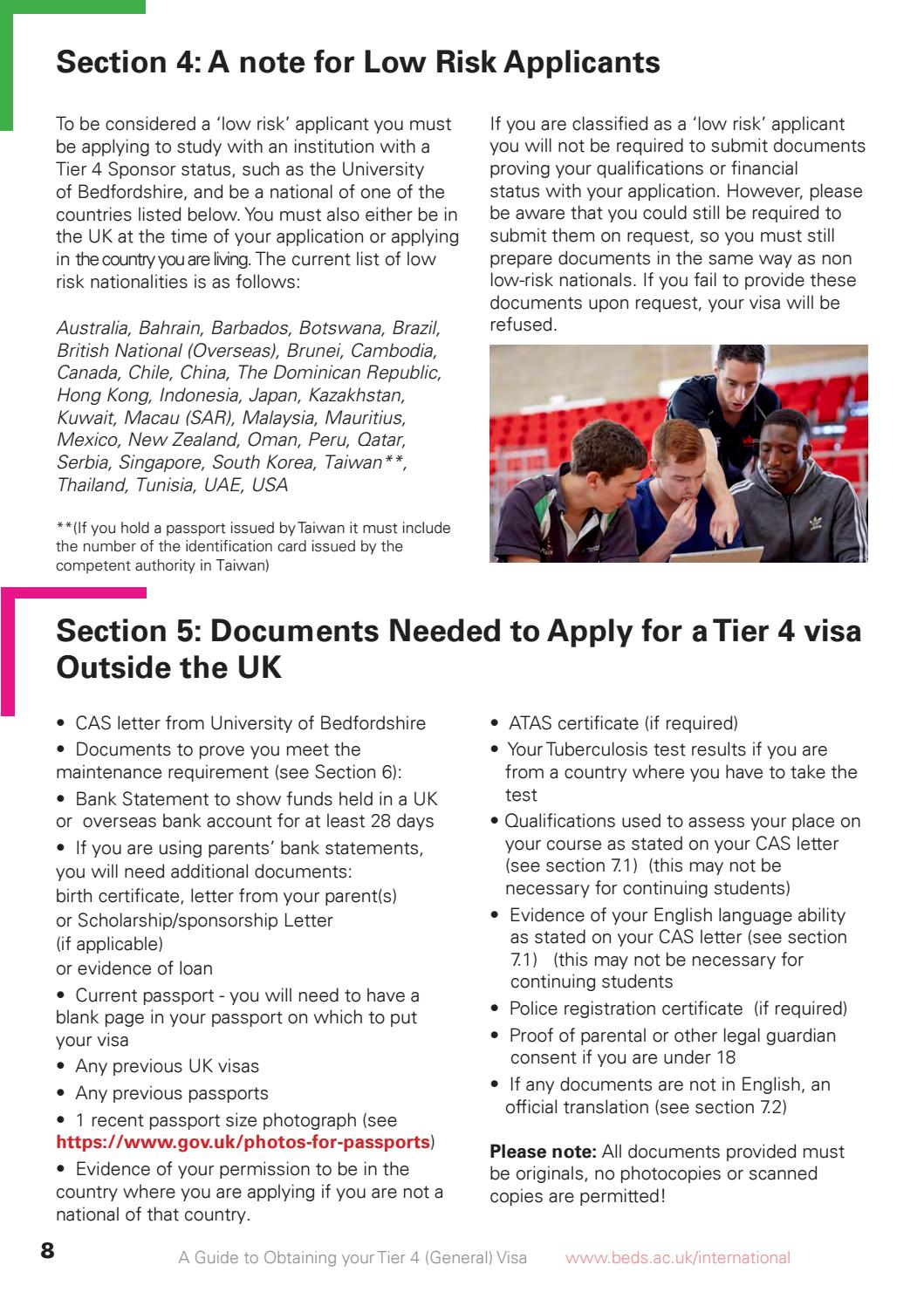 New Visa Guide By University Of Bedfordshire Issuu