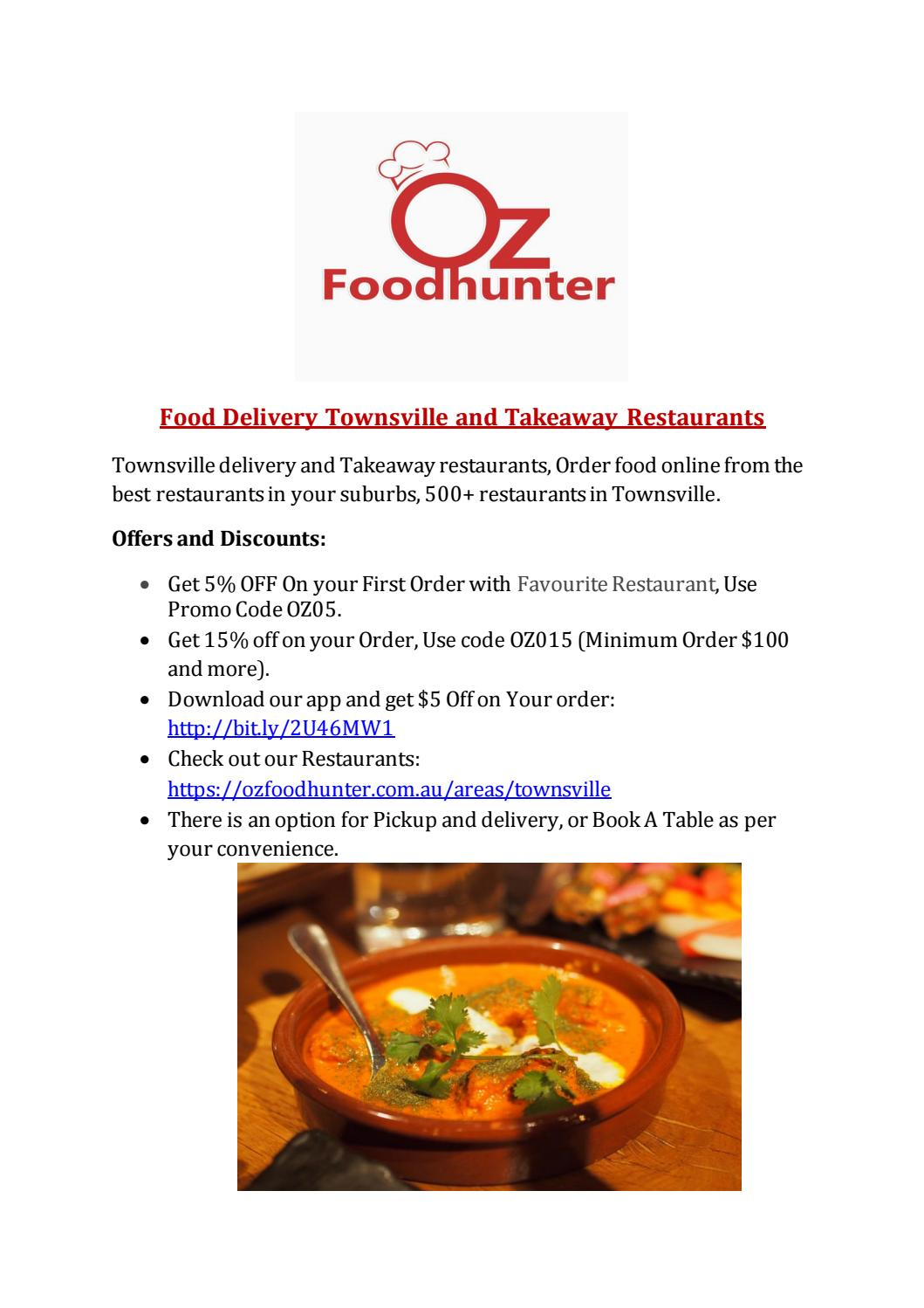 food delivery townsville | Home delivery Townsville by