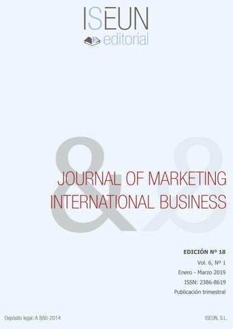96b53dac4654 Journal of Marketing & International Business - Edición Nº 18 by ...