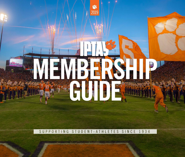 Iptay 2019 Membership Guide By Clemson Tigers Issuu