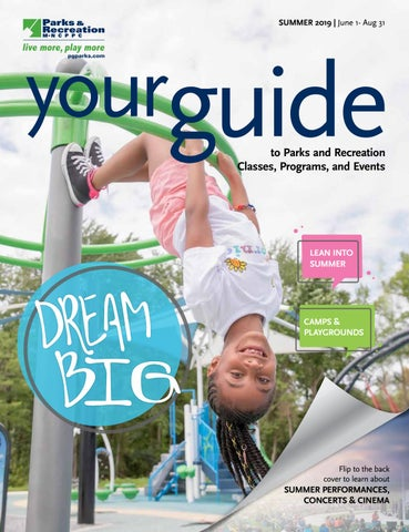 2019 Summer Guide by M-NCPPC, Department of Parks