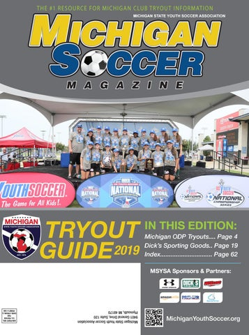 2019 Michigan Soccer Tryout Guide by MSYSA - issuu
