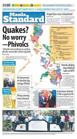 Manila Standard - 2019 April 27 - Saturday by Manila Standard - issuu