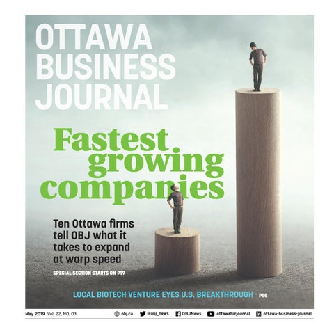 39cf7e7bc68177 Fastest growing companies Ten Ottawa firms tell OBJ what it takes to expand  at warp speed SPECIAL SECTION STARTS ON P19