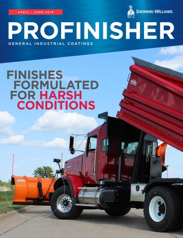 Profinisher Magazine General Industrial Coatings Q2 2019