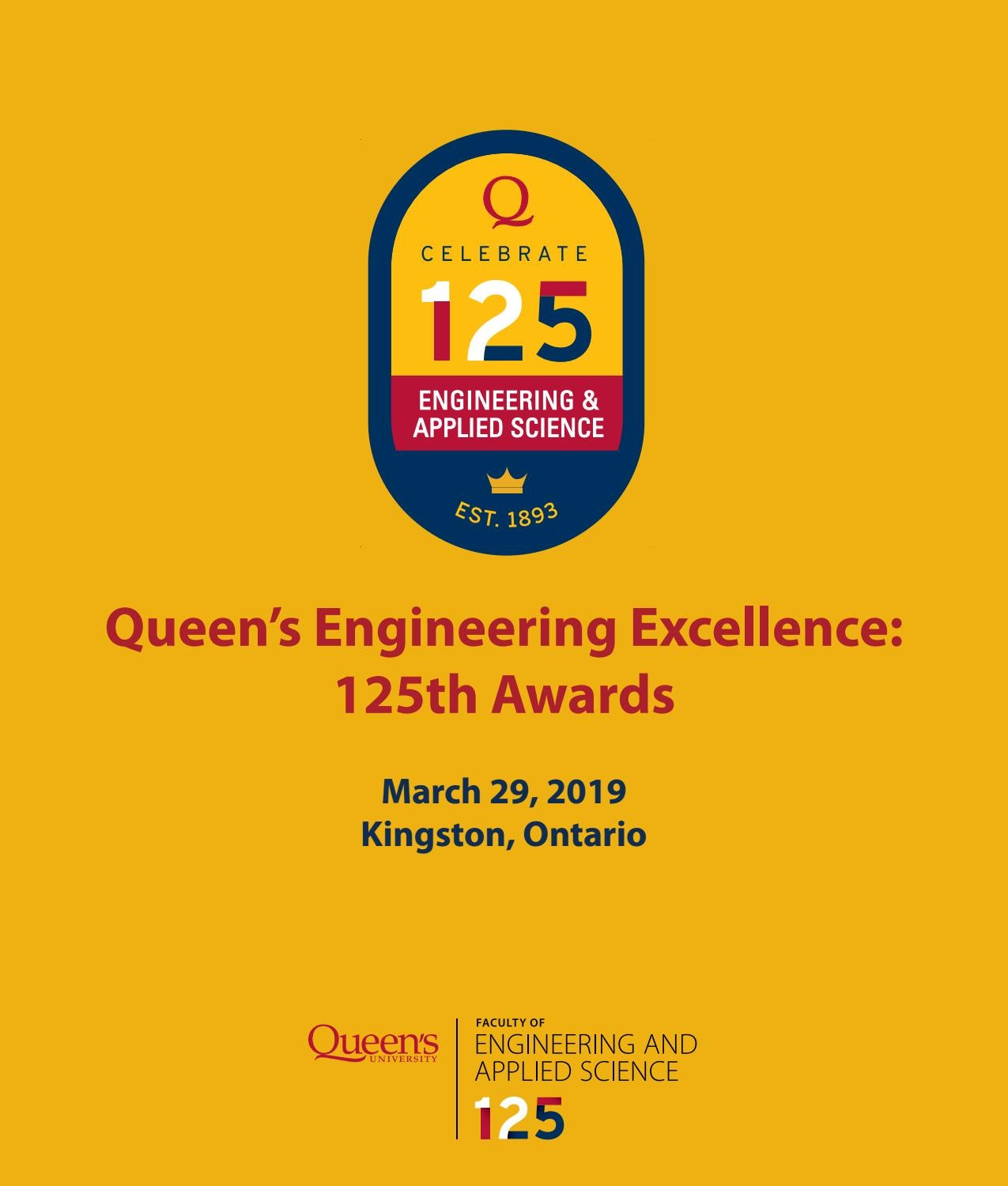 Queen S Engineering Excellence 125th Awards By Queen S Faculty Of Engineering And Applied Science Issuu