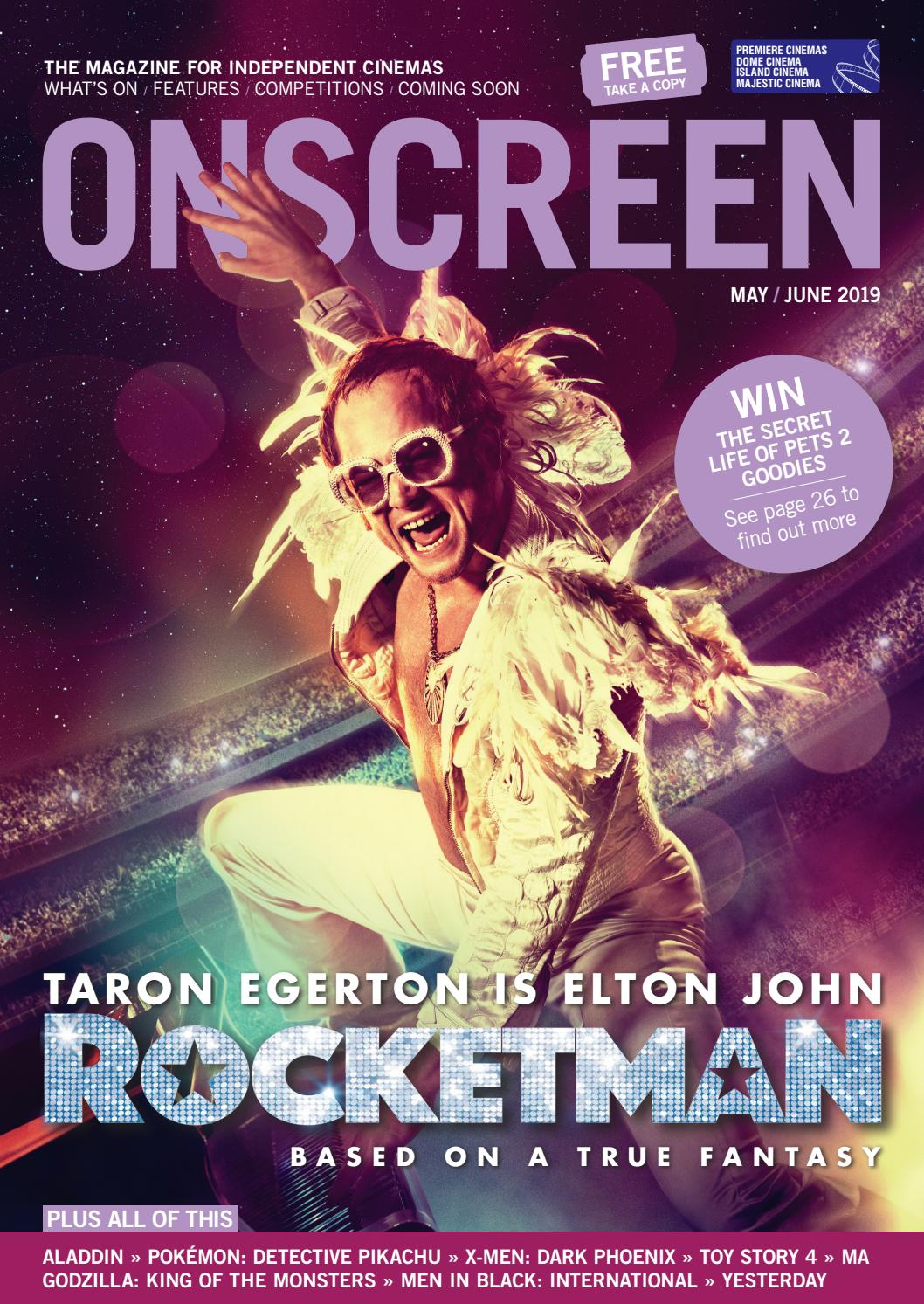 ONSCREEN Magazine May/June 2019 by ONSCREEN Magazine - issuu