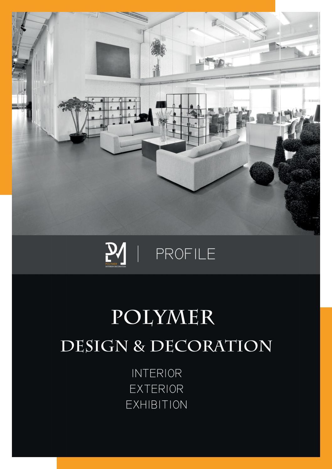 Polymer Interior Decoration Company Profile 2019 By Maraandreavs Issuu