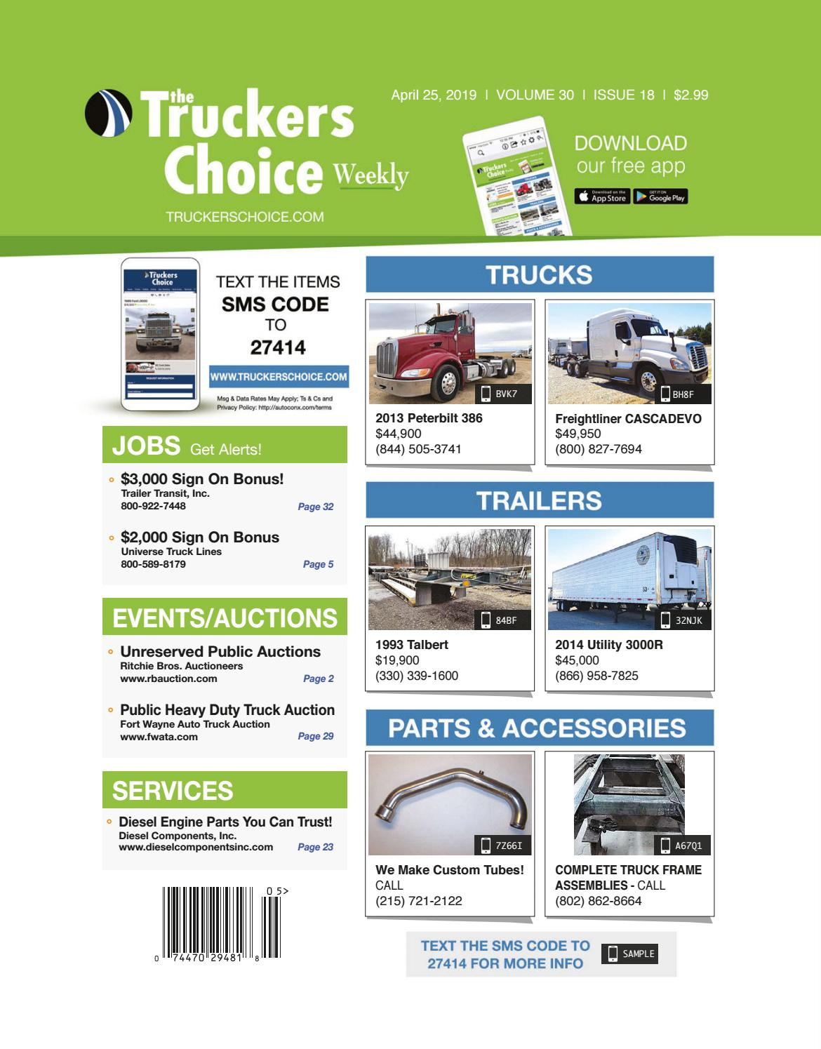 Truckers Choice 30-18 by DCHPublications - issuu