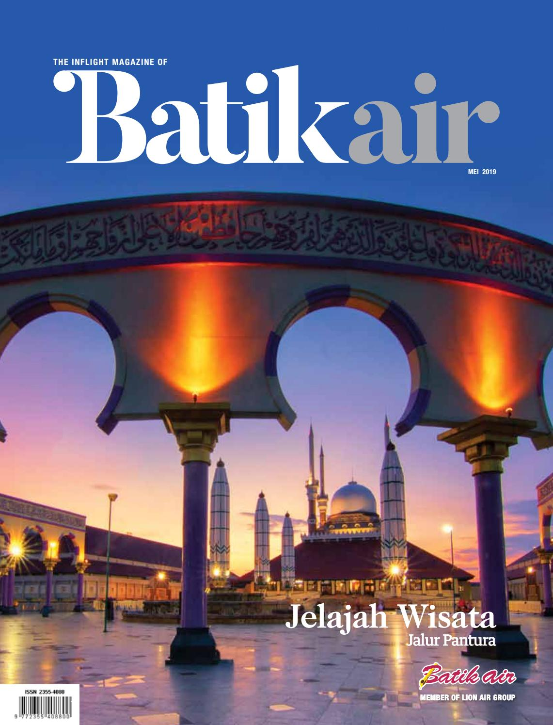 BATIK MEI 2019 By Batik Air Magazine Issuu