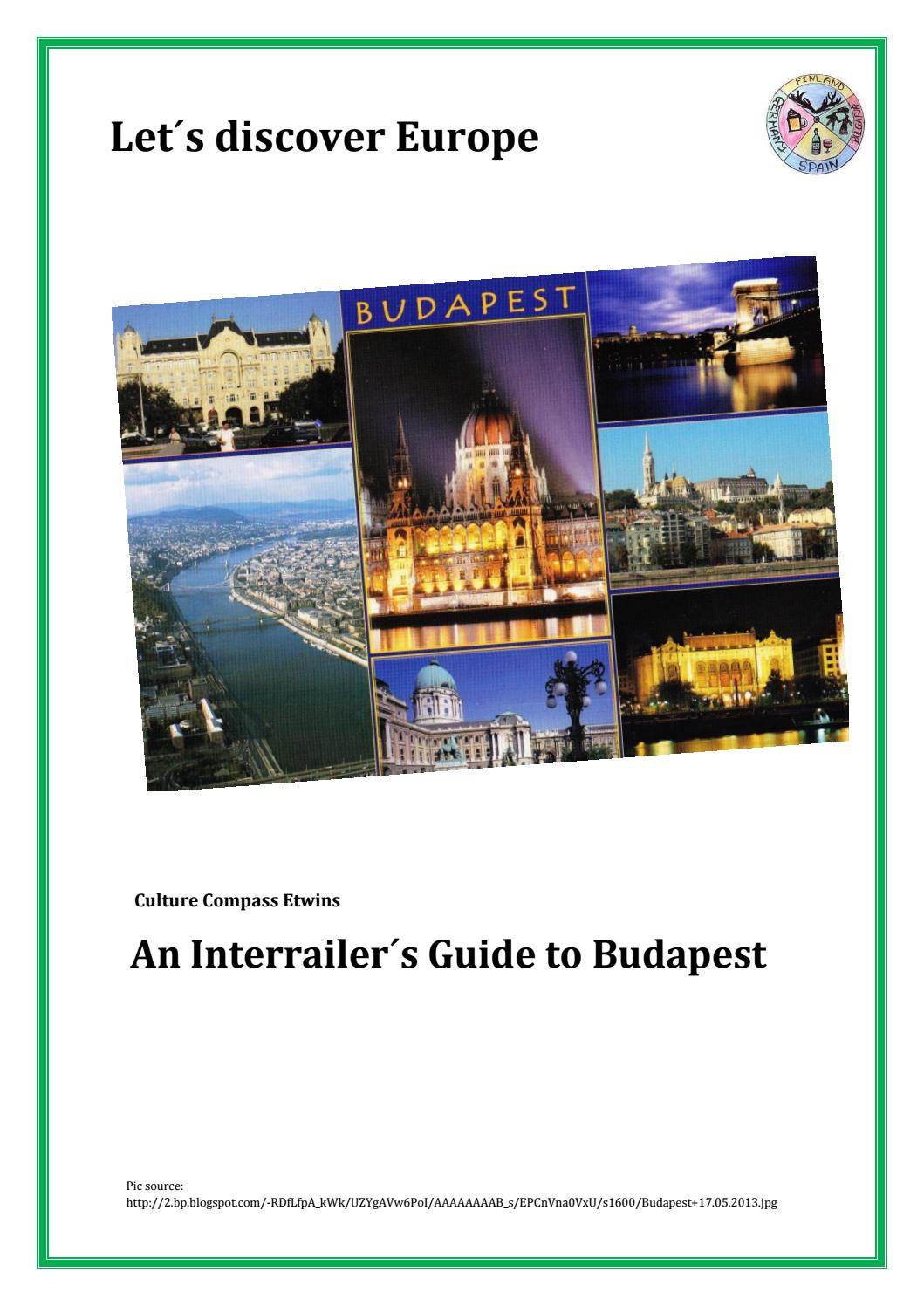 Budapest Guide For Interrailers By Learn Something New Every Day