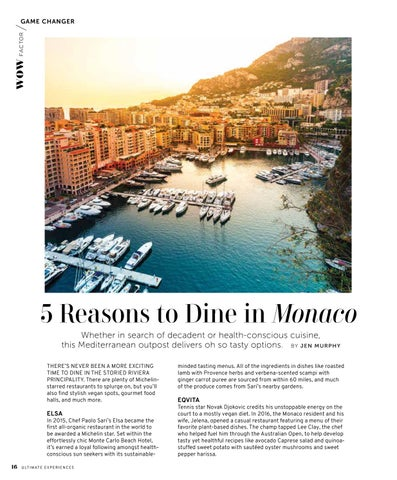 Page 18 of 5 Reasons to Dine in Monaco