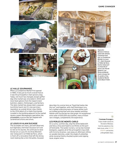Page 19 of 5 Reasons to Dine in Monaco