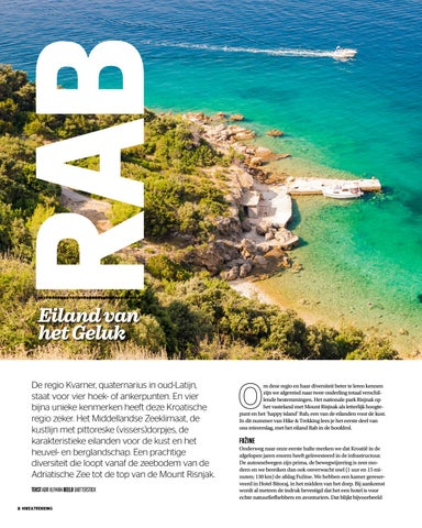 Page 8 of The amazing nature around Croatian Fuzine and Happy Island Rab