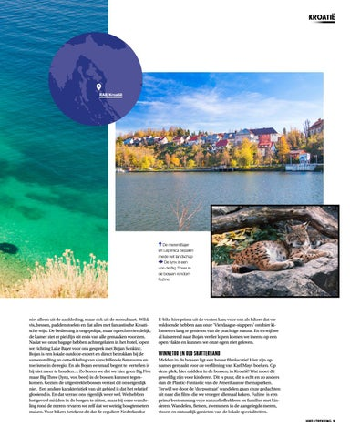 Page 9 of The amazing nature around Croatian Fuzine and Happy Island Rab