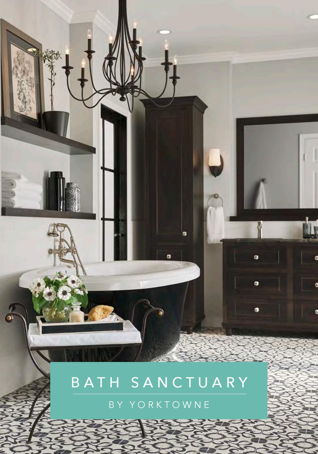 Bath Sanctuary By Yorktowne 2018 Catalog By Whit
