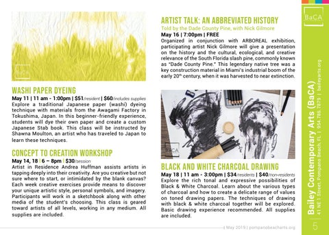 Page 5 of Happening at Bailey Contemporary Arts (BaCA)