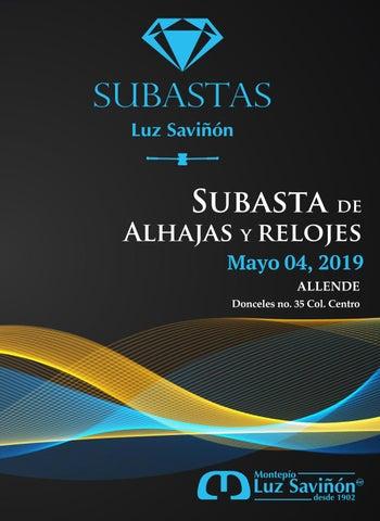9282d9a4f353 Subasta 04 mayo 2019 Allende by Montepío Luz Saviñón IAP - issuu