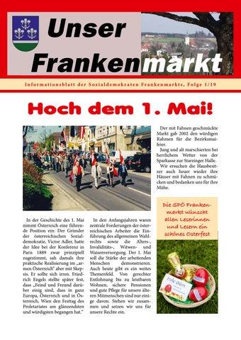 Marktgemeinde Frankenmarkt: Willkommen