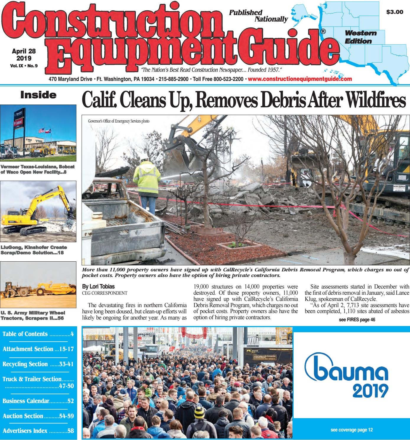West 9 April 28, 2019 by Construction Equipment Guide - issuu