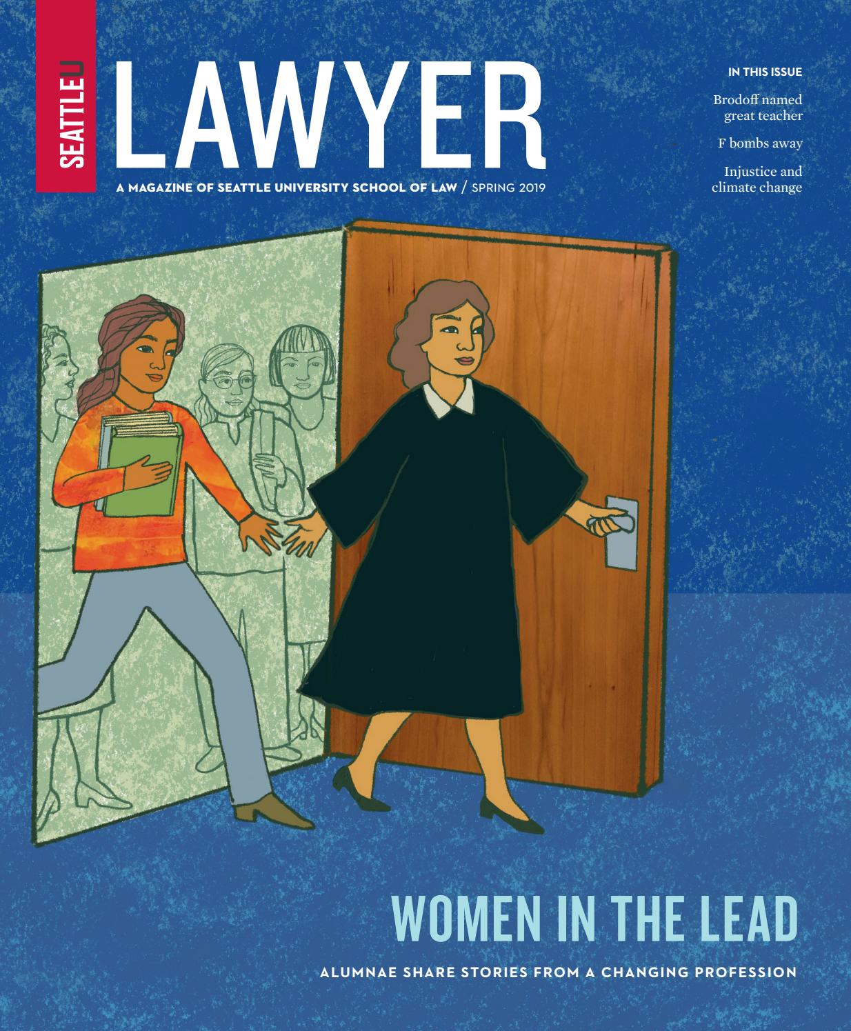 Lawyer magazine, Spring 2019 by Seattle University School of
