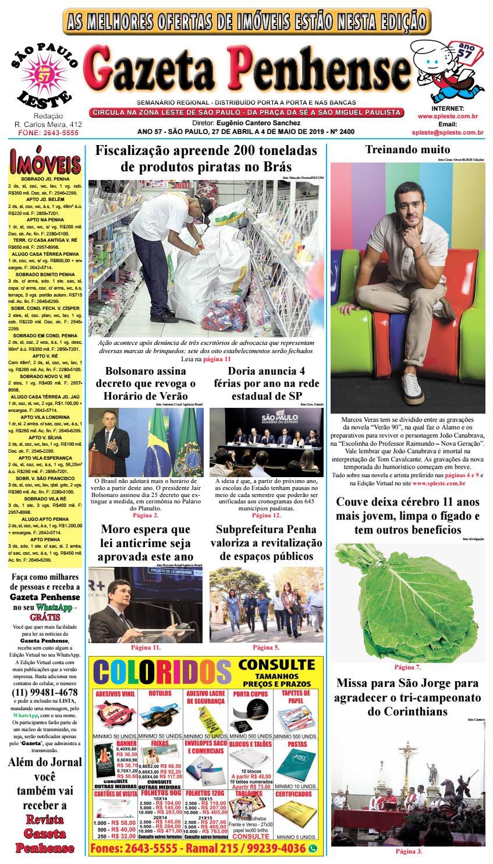 ad80b3445 Gazeta Penhense edição 2400 - 27 04 a 04 05 19 by Marcelo Cantero - issuu