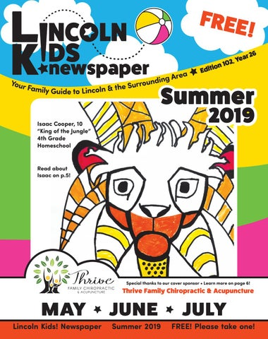 Awe Inspiring Lincoln Kids Newspaper Summer 2019 Edition By Lincoln Kids Onthecornerstone Fun Painted Chair Ideas Images Onthecornerstoneorg